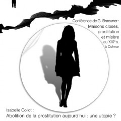 Conférence : La Prostitution, Lois et Histoire
