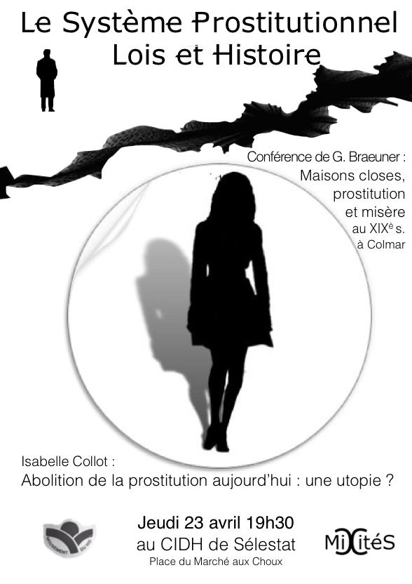 Affiche Conférence Prostitution