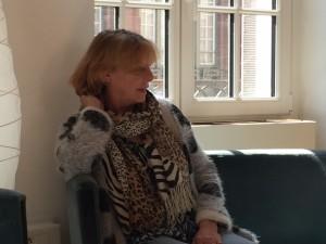 Rozen Hicher, survivante de la prostitution et militante de l'abolition. Avril 2015