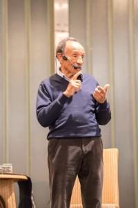 Conférence Pierre Rabhi - Photo jardins de Gaïa