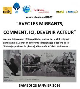 Conférence migrants